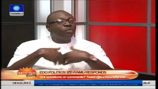 Edo Politics: Ize-Iyamu Responds, Oshiomhole Should Be Grateful To Me. Pt1