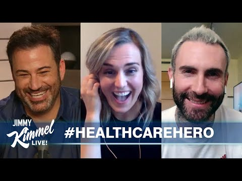 COVID-19: Nurse In Fairfield County Featured As Jimmy Kimmel's Healthcare Hero Of Week