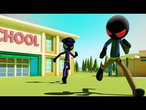 Stickman Highschool Escape (by GENtertainment Studios) Android Gameplay [HD]