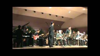 University of Hawaii Jazz Ensemble playing The Chili Pepper That Go...