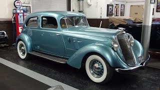 1934 Hupmobile Aerodynamic at The Klairmont Kollections on My Car Story with Lou Costabile
