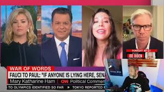 BUSTED: CNN Panel TRIGGERED By Guest's Criticism of Saint Fauci & The Media