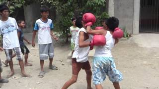 ngongi vs bading boxing