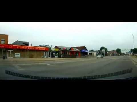 Driving Around BGSU And Bowling Green, Ohio