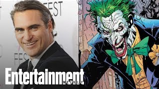 Joaquin Phoenix Joker Movie Gets A Title And Release Date | News Flash | Entertainment Weekly