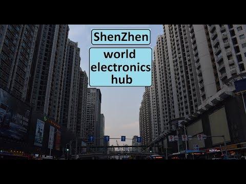 ShenZhen. World electronics capital. Capital mundial de la electrónica.
