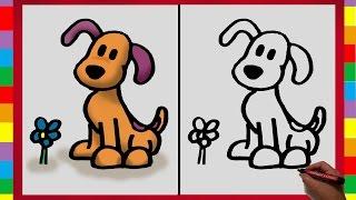 Como Dibujar a Lula de Pocoyo / How to draw Loula (Pocoyo)