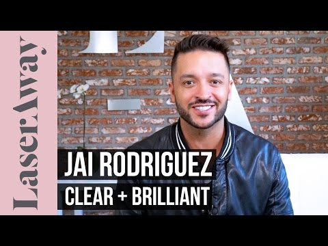 Jai Rodriguez Gets Clear  Brilliant at LaserAway