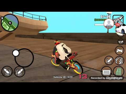 เทส แดช ในเกมGta San ของAndroid