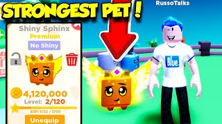 I Got The MOST POWERFUL SHINY PET In Pet Ranch Simulator 2 And IT'S INSANELY OP! (Roblox)