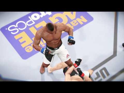EA SPORTS™ UFC® 2  Overeem Jumping  Knee Kick
