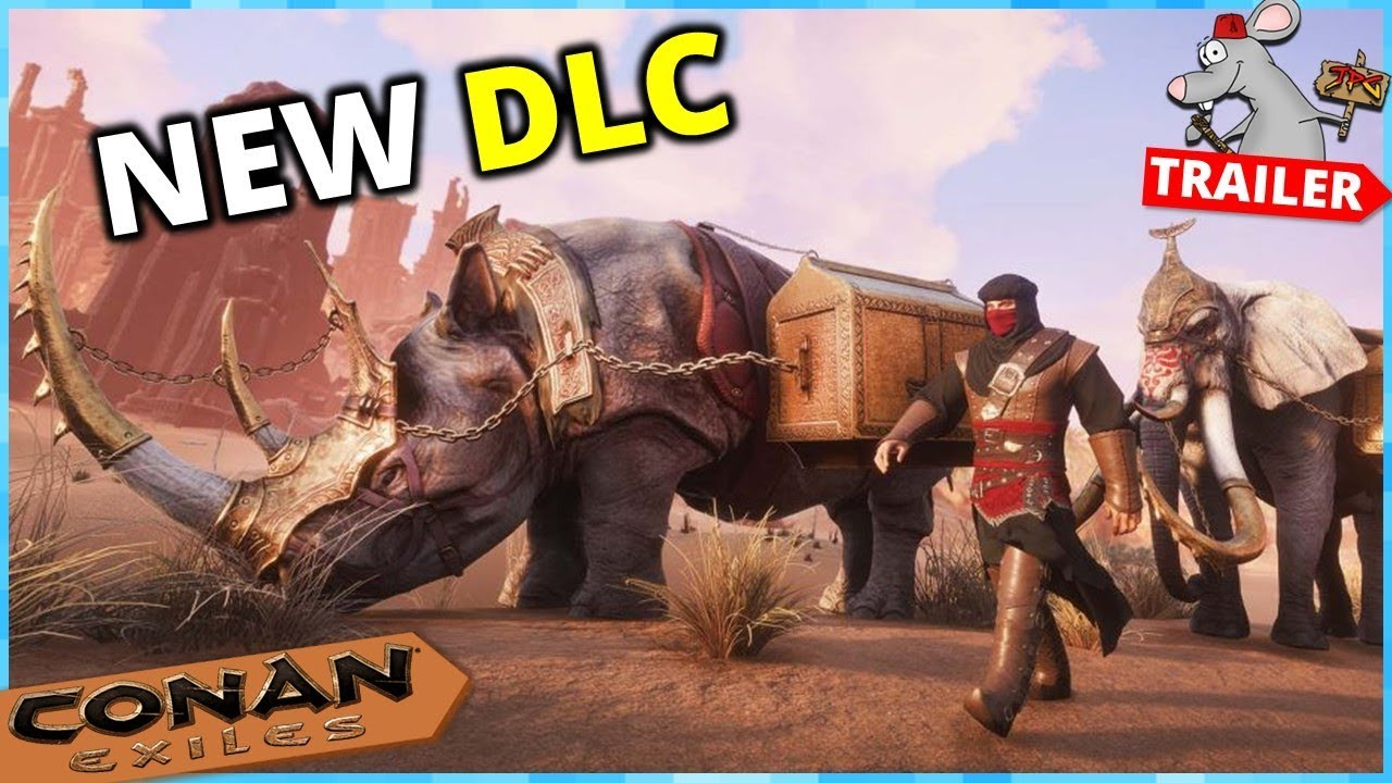 CONAN EXILES TURAN DLC Trailer! Out Now PS4 Pc - Xbox Soon