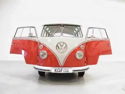 A Rare RHD 23 Window VW Type 2 Samba Deluxe Microbus