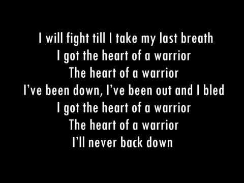 Heart of a warrior Lyrics