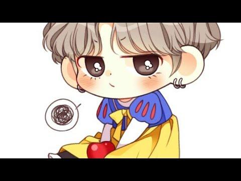 Bts Em Desenho Kawaii Youtube