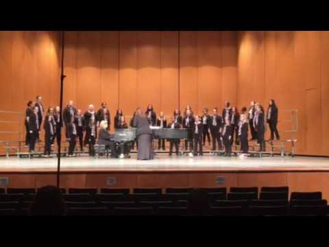 Adrian Middle School State Festival 2017 7/8 Ladies Choir - Curiosity, Bernon