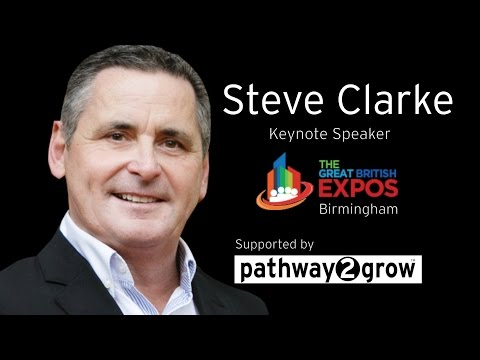 Steve Clarke @uksalesmentor Presentation at The Great British Expo @GBExpos @Pathway2Grow