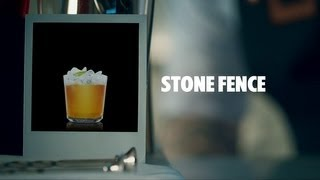 STONE FENCE DRINK RECIPE - HOW TO MIX