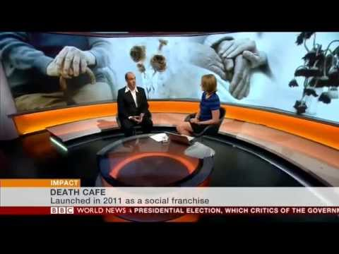 Jon Underwood from Death Cafe on BBC World News