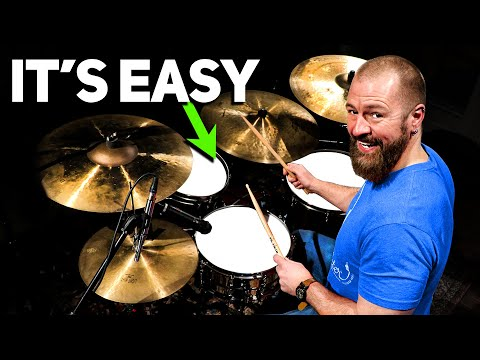 Applying The Single Paradiddle To The Drum-Set (FULL DRUM LESSON)