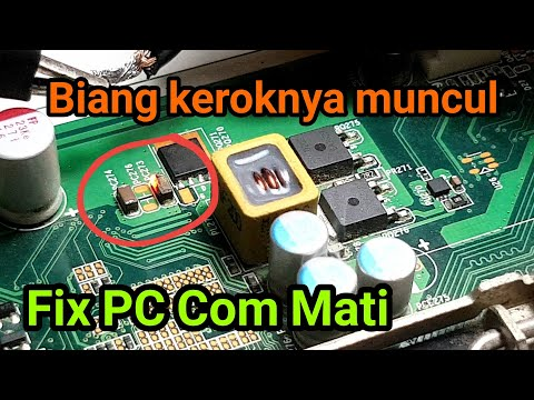 Cara mengatasi Komputer PC mati total motherboard konslet full short [HP Pro 3330 MT]