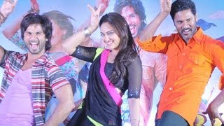 Repeat youtube video R...Rajkumar (Music Preview) | Sonakshi Sinha, Prabhu Deva & Shahid Kapoor