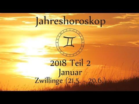 Zwillinge Jahreshoroskop 2018 Teil 2 Highlights Mit Venus Und