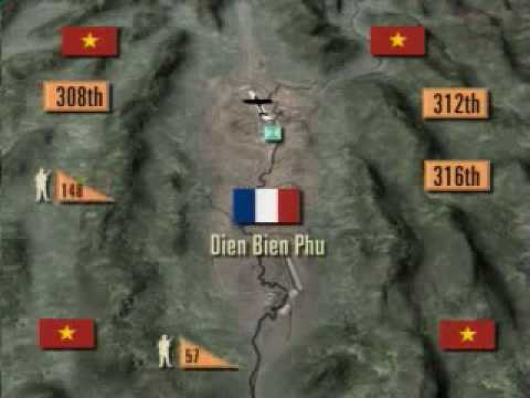 (2-6) Indo-China Battle, North Viet Nam - Dien Bien Phu- French war 1953 -