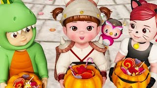 Kongsuni and Friends 🎃Trick or Teat  🎃Halloween Episode 🎃Kids Cartoon 🎃Toy Play 🎃Kids Movies