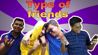 Types of friends | Puja spacial | Bengali comedy video | Funny Bag