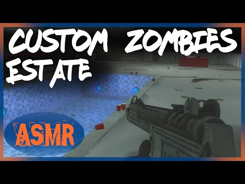 ASMR ESTATE OF THE DEAD Custom Zombies Map (Whispered)
