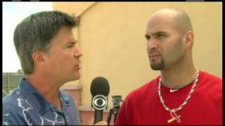 Scott Miller with Albert Pujols