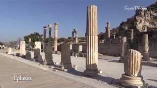 Visitando cidade antiga de Éfeso & Kusadasi na Turquia com GenteTV