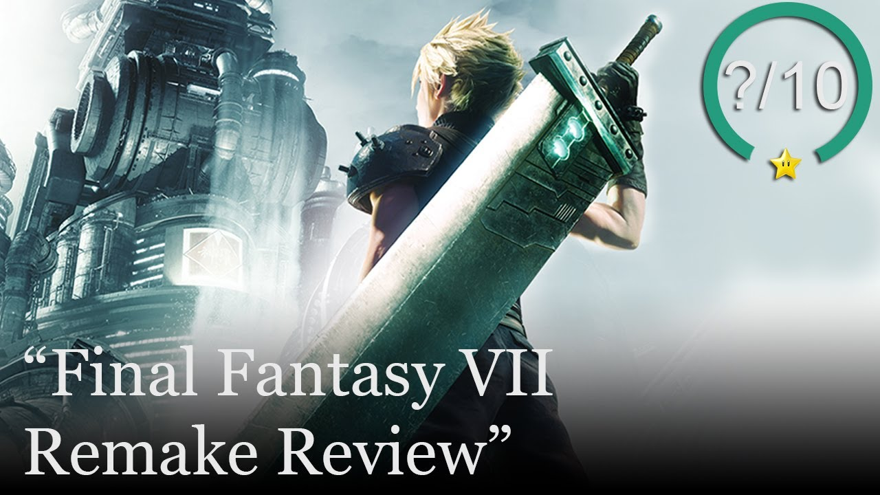 Final Fantasy 7 Remake Review [PS4] (Video Game Video Review)