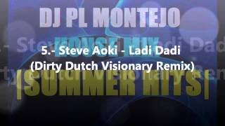 Week #18 July 2012 Top 10 Club Hits Electro House Party Dance Music - DJ PL Montejo SUMMER HITS