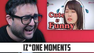 IZONE Miyawaki Sakura CUTE AND FUNNY MOMENTS REACTION