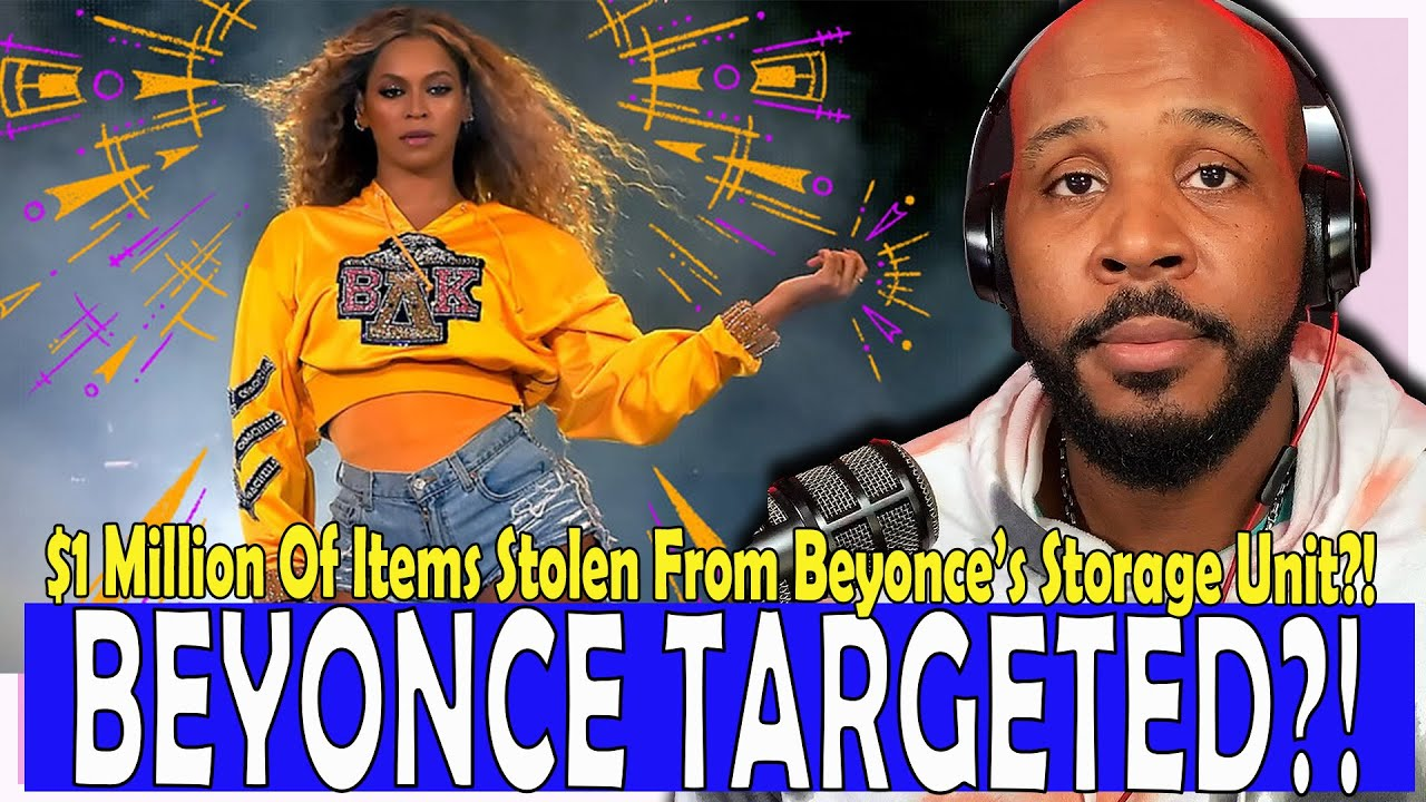 Beyonce Storage Units Robbed Of $1 Million Of Dresses & Handbags?! | The Pascal Show