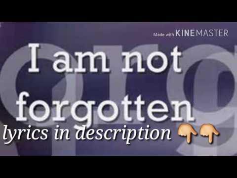 Israel i am not forgotten (lyrics in description)