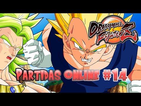 DBFZ | Online Ranked #14 - EL PRÍNCIPE VEGETA... Y BROLY - Dragon Ball FighterZ