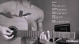 Entertainer (Zayn) || Complete Guitar Chords Tutorial / Cover - MJ ||