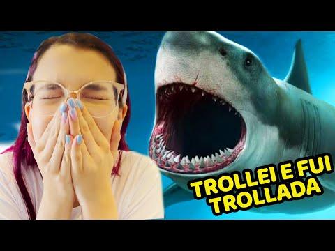 FUI TROLLAR MINHA MÃE Com UM TUBARÃO E ACABEI TROLLADA !! MUITO TENSO | Luluca