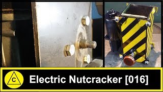 Electric Nutcracker 12V DC - Homemade