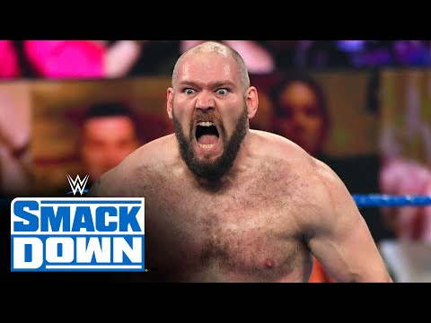 Lars Sullivan bulldozes his way back into WWE action: SmackDown, Oct. 9, 2020