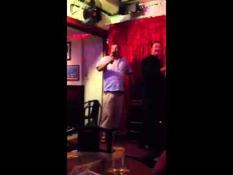 Benidorm karaoke John Walker