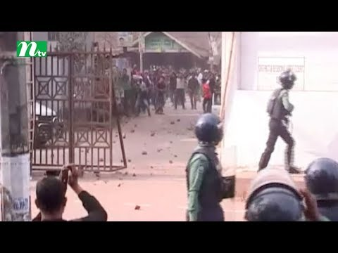 BNP men clash with Police BCL in Sylhet