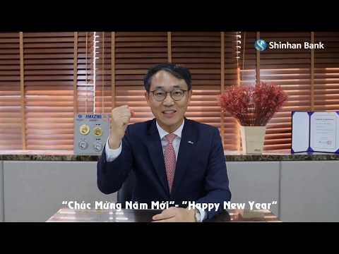 TET GREETING FROM CEO - GD OF SHINHAN BANK VIETNAM