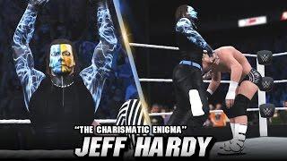 WWE 2K16 Jeff Hardy Entrance, Signatures & Finishers (CC)