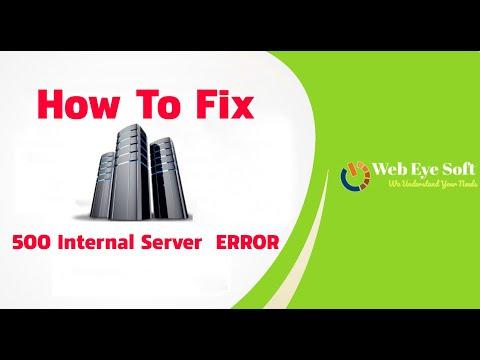 500 Internal Server Error | How To Fix Internal Server Error