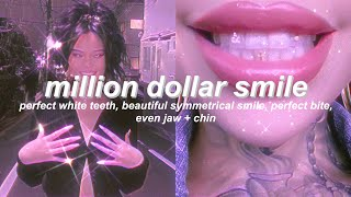 """MILLION DOLLAR SMILE"" teeth + jaw combo subliminal (listen once) 』"