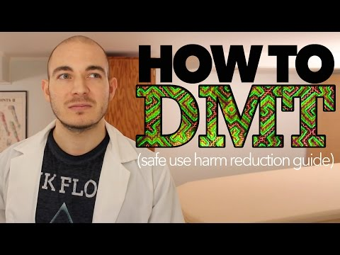 "DMT Safety Guide | ""Reducing Harm Through Education"""